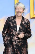 EMMA THOMPSON at Dolittle Special Screening at Cineworld Leicester Square in London 01/25/2020