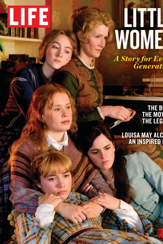 EMMA WATSON, FLORENCE PUGH, SAOIRSE RONAN and ELIZA SCANLEN in Life Bookazines, December 2019