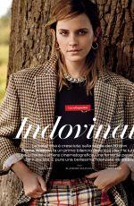 EMMA WATSON in Vanity Fair Magazine, Italy Jnuary 2020