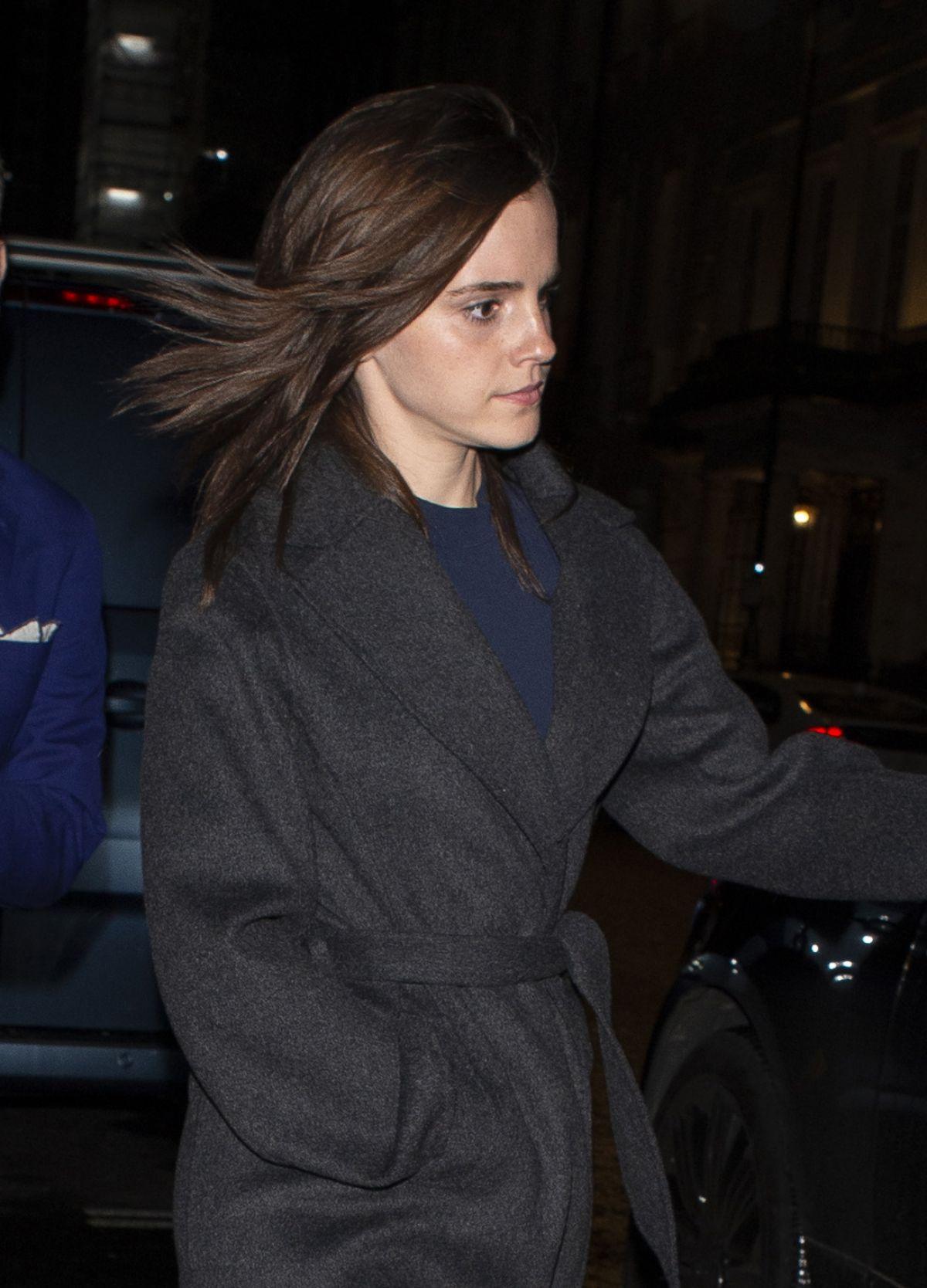 Emma Watson Leaves C Restaurant In London 01 30 2020 Hawtcelebs
