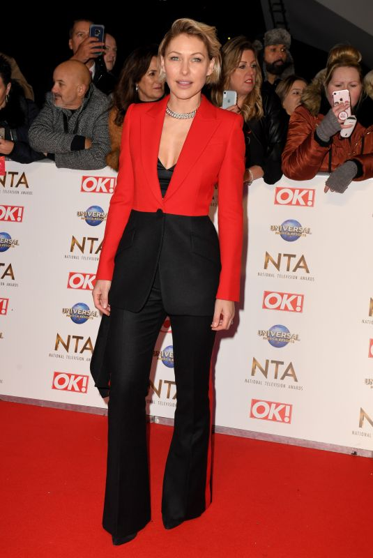 EMMA WILLIS at National Television Awards 2020 in London 01/28/2020