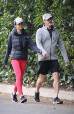 EMMANUELLE CHRIQUI Out Hikinig in Hollywood 01/20/2020