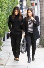 EVA LONGORIA and AMERICA FERRERA Out in Beverly Hills 01/16/2020