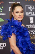 EVA MACIEL at 34th Goya Cinema Awards 2020 in Madrid 01/25/2020