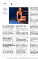FEDERICA PELLEGRINI in F Magazine, January 2020