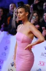FERNE MCCANN at National Television Awards 2020 in London 01/28/2020