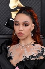 FKA TWIGS at 62nd Annual Grammy Awards in Los Angeles 01/26/2020