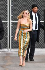 FLORENCE PUGH Arrives at Jimmy Kimmel Live in Los Angeles 01/16/2020