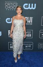 FLORENCE PUGH at 25th Annual Critics Choice Awards in Santa Monica 01/12/2020