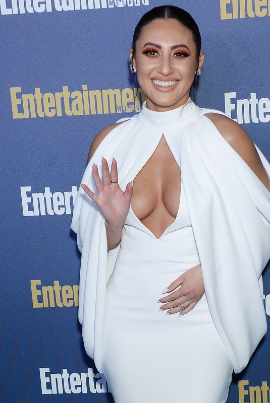 FRANCIA RAISA at Entertainment Weekly Pre-sag Celebration in Los Angeles 01/18/2020