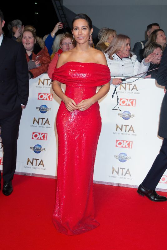 FRANKIE BRIDGE at National Television Awards 2020 in London 01/28/2020