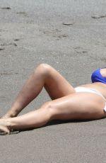 FRANKIE ESSEX in Bikini at a Beach in Tenerife 01/01/2019