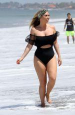 FRANKIE ESSEX in Bikini on the Beach in Tenerife 01/03/2020