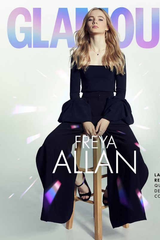 FREYA ALLAN in Glamour Magazine, Mexico January 2020