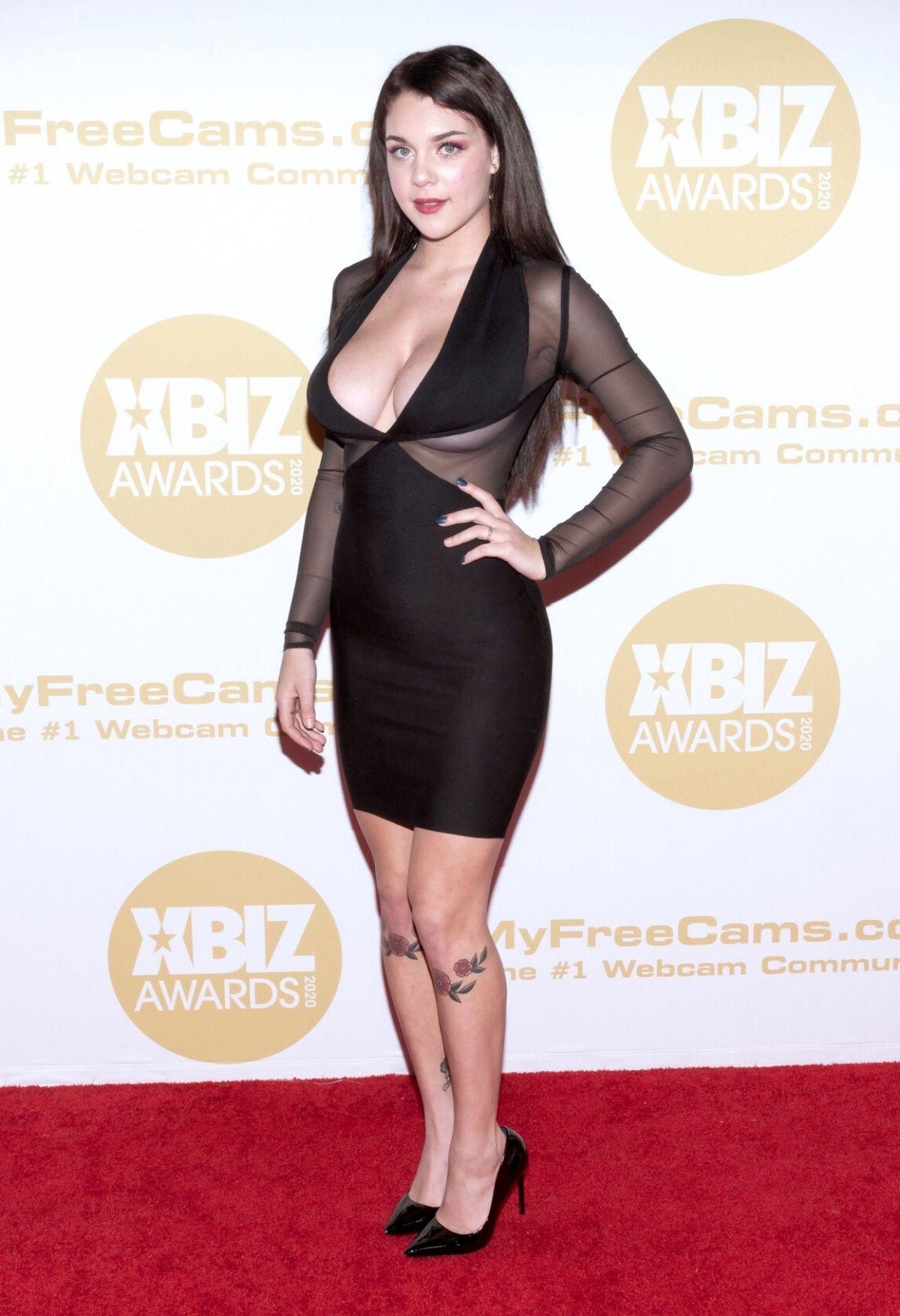 GABBIE CARTER at 2020 Xbiz Awards in Los Angeles 01/16