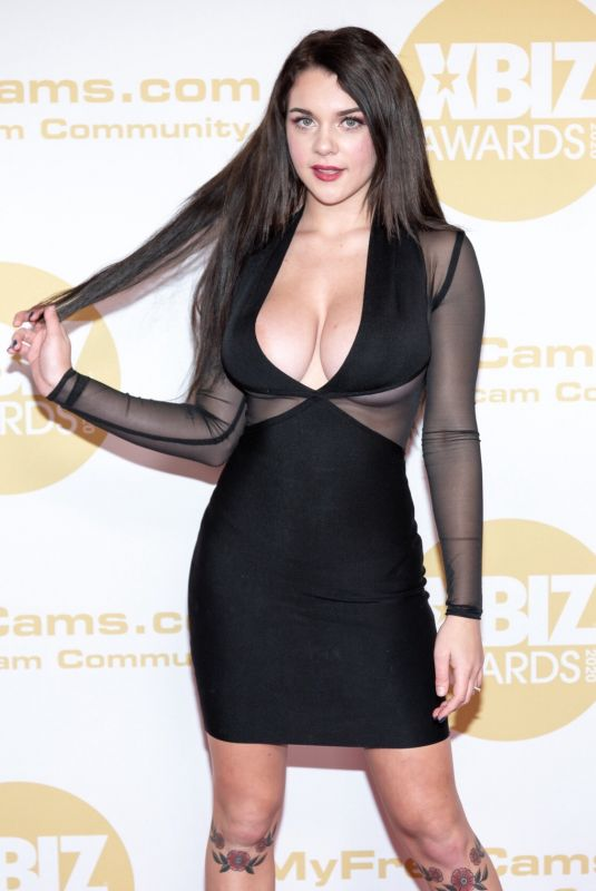 GABBIE CARTER at 2020 Xbiz Awards in Los Angeles 01/16/2020