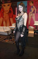 GABBIE CARTER at AVN Adult Entertainment Expo in Las Vegas 01/22/2020