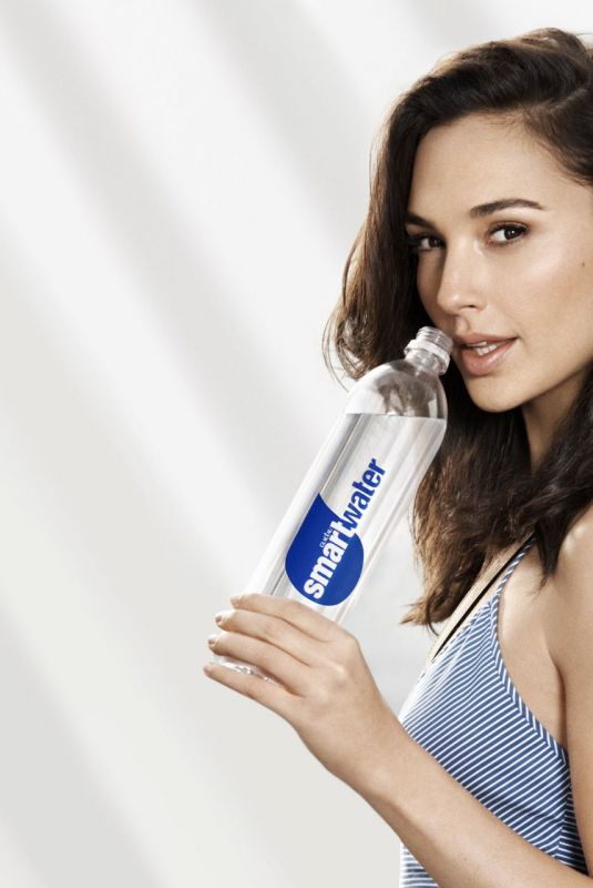 GAL GADOT for Coca-Cola's Smartwater 2020 Advertising
