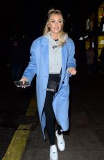 GEORGIA STEEL and LAURA ANDERSON Leaves JD Sports x Anthony Joshua Launch in London 01/20/2020