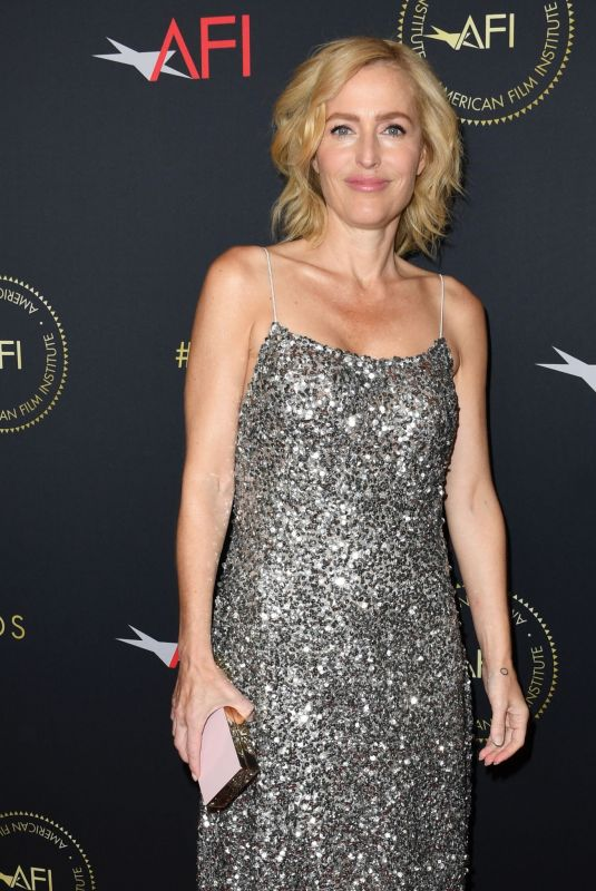 GILLIAN ANDERSON at 20th Annual AFI Awards in Beverly Hills 01/03/2020