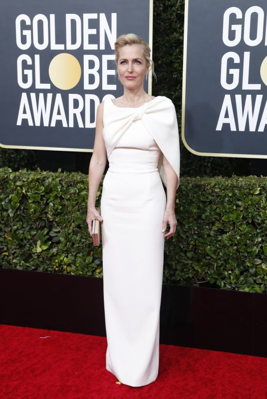 GILLIAN ANDERSON at 77th Annual Golden Globe Awards in Beverly Hills 01/05/2020