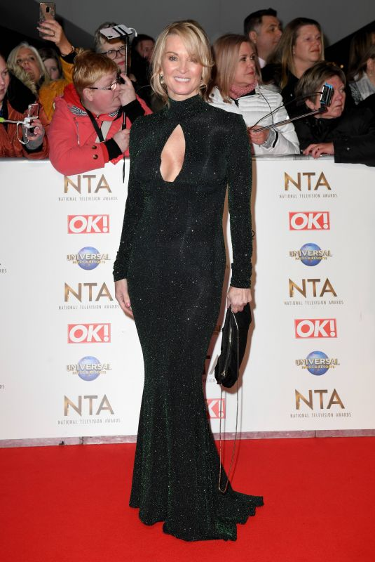 GILLIAN TAYLFORTH at National Television Awards 2020 in London 01/28/2020