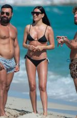 GIORGIA GABRIELE in Bikini at a Beach in Miami 01/03/2020