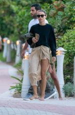 GIRGIA TORDINI Out on the Beach in Miami 01/03/2020