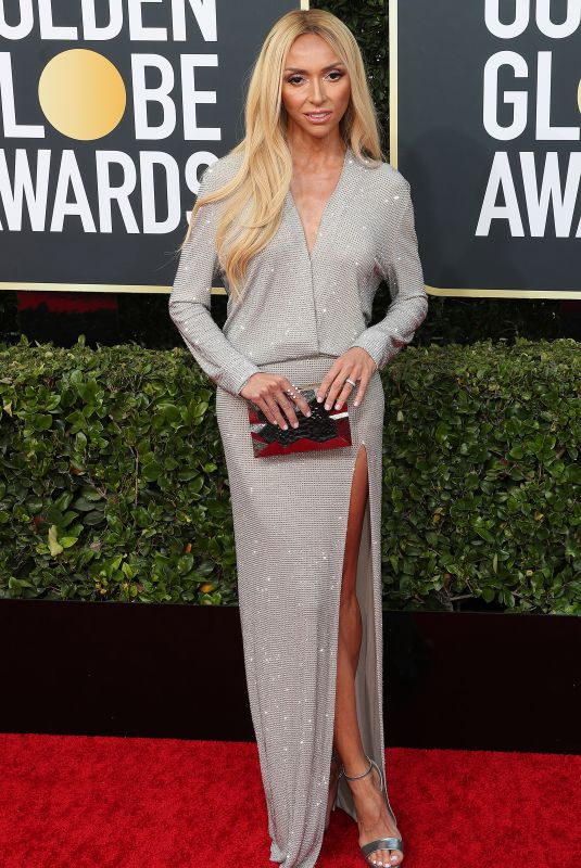 GIULIANA RANCIC at 77th Annual Golden Globe Awards in Beverly Hills 01/05/2020
