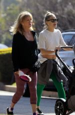GOLDIE HAWN and KATE HUDSON Out in Pacific Palisades 01/25/2020