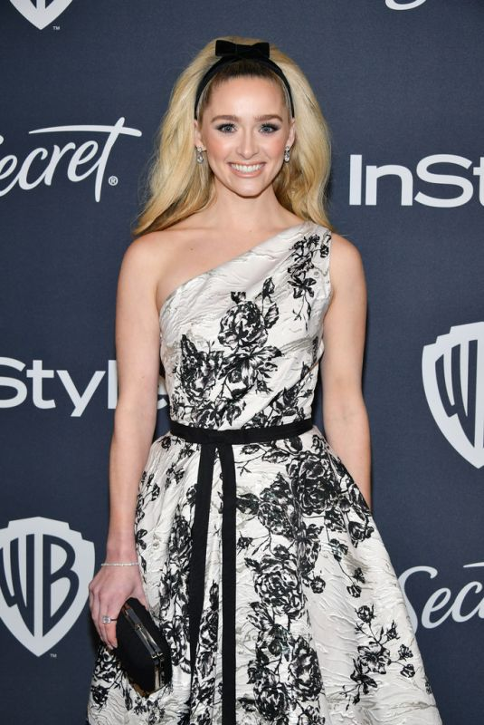 GREER GRAMMER at Instyle and Warner Bros. Golden Globe Awards Party 01/05/2020