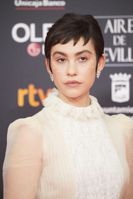 GRETA FERNANDEZ at 34th Goya Cinema Awards 2020 in Madrid 01/25/2020