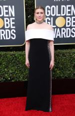 GRETA GERWIG at 77th Annual Golden Globe Awards in Beverly Hills 01/05/2020