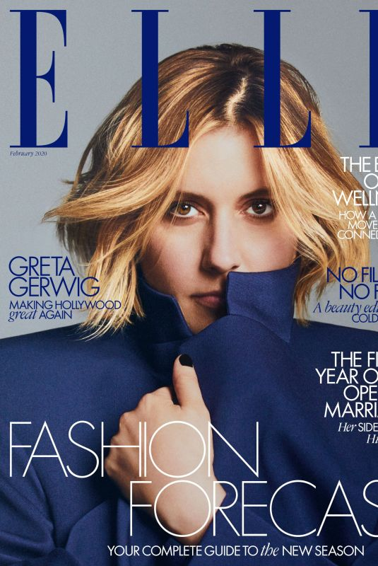 GRETA GERWIG in Elle Magazine, UK February 2020