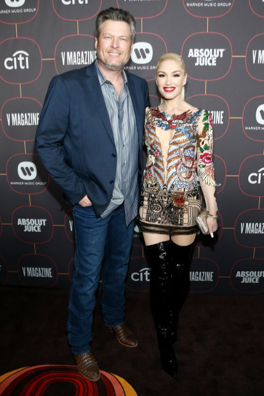 GWEN STEFANI at Warner Music Group Pre-Grammy Party in Hollywood 01/23/2020