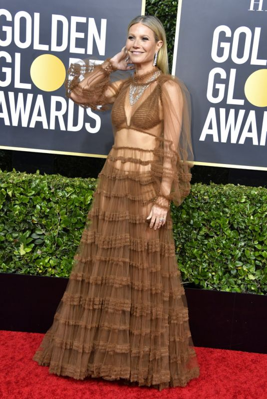 GWYNETH PALTROW at 77th Annual Golden Globe Awards in Beverly Hills 01/05/2020