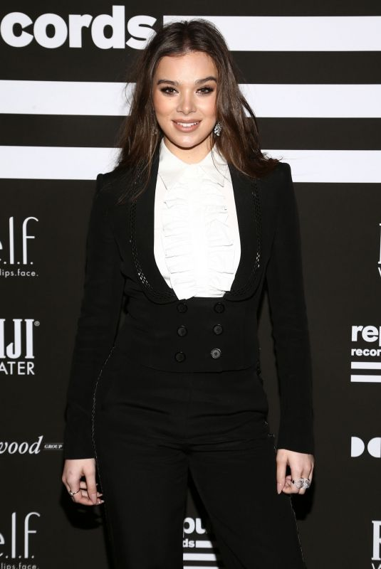 HAILEE STEINFELD at Republic Records Grammy After-party in Hollywood 01/26/2020