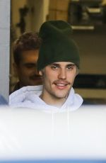 HAILEY and Justin BIEBER Leaves Il Pastaio in Beverly Hills 01/18/2020