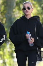HAILEY and Justin BIEBER Out Hiking in Los Angeles 01/12/2020