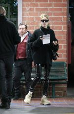 HAILEY BIEBER Out and About in Los Angeles 01/20/2020