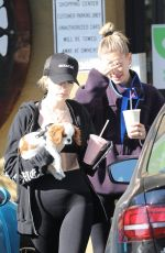 HAILEY BIEBER Out for Smoothies After a Training at Dogpound Gym in Los Angeles 01/24/2020