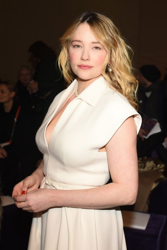 HALEY BENNETT at Dior Haute Couture Spring/Summer 2020 Show at Paris Fashion Week 01/20/2020
