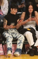 HALSEY at Cleveland Cavaliers vs LA Lakers Game in Los Angeles 01/13/2020