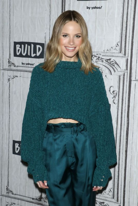 HALSTON SAGE at Build Series in New York 01/15/2020