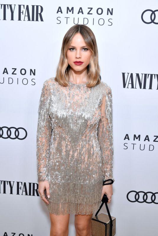 HALSTON SAGE at Vanity Fair x Amazon Studios Award Season Celebration in West Hollywood 01/04/2020