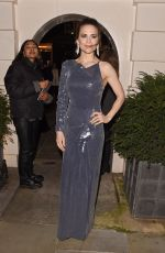 HAYLEY ATWELL Arrives at Dunhill & Dylan Jones Pre-bafta Dinner in London 01/29/2020