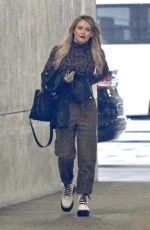 HILARY DUFF Out and About in Burbank 01/16/2020