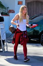 HILARY DUFF Out for Lunch in Los Angeles 01/28/2020
