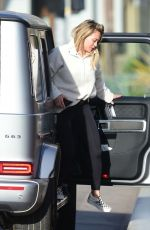 HILARY DUFF Out in Los Angeles 01/27/2020