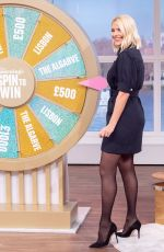 HOLLY WILLOGHBY at This Morning Show in London 01/22/2020